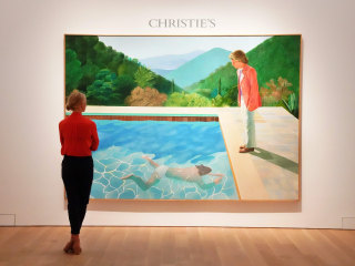 David Hockney painting sells for record-breaking $90.3 million