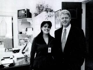 Monica Lewinsky describes 'flirtatious encounters' with Bill Clinton in upcoming documentary