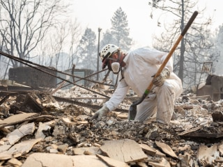 Volunteers dread what they may find searching for the missing in the ashes of the Camp Fire
