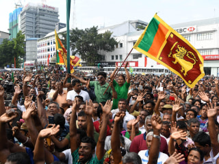 Ousted Sri Lankan Prime Minister's party asks Facebook to protect its supporters