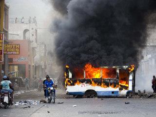 Haiti anti-corruption protests spark clashes; 6 dead