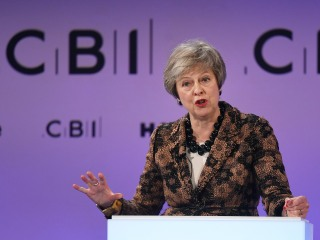 Brexit will put focus on 'talents and skills,' not E.U. passports, May says