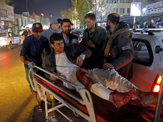 Suicide bomb in Kabul leaves dozens dead and injured