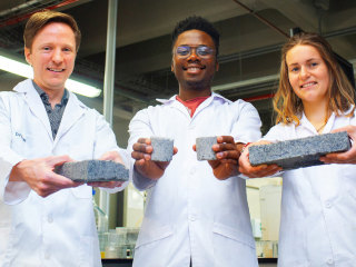 World's first brick made of urine requires a lot of it