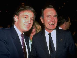 Trumps praise Bush's 'a thousand points of light,' but president once mocked it