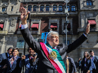 """In Mexico, López Obrador takes office, vows to """"end corruption and impunity"""""""