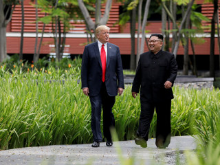 Trump says he will likely meet with North Korea's Kim in early 2019