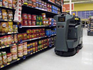 Robot janitors are moving into Walmart