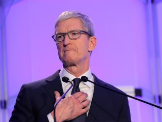 Apple CEO Tim Cook says tech needs to take a moral stand against hate speech
