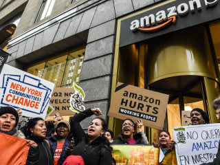 Amazon's HQ2 deal makes most New Yorkers smile, poll finds