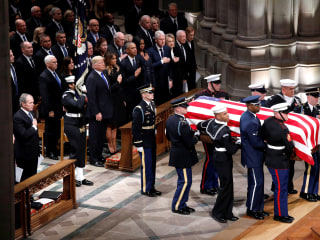 Top moments from George H.W. Bush's state funeral