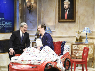 Robert De Niro's Mueller returns to 'Saturday Night Live'