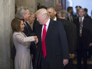 Pelosi brings up Trump 'manhood,' says meeting with him was like 'tinkle contest' with skunk