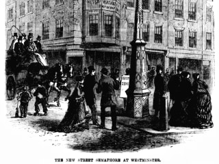 150 years of seeing red: The traffic light marks a milestone
