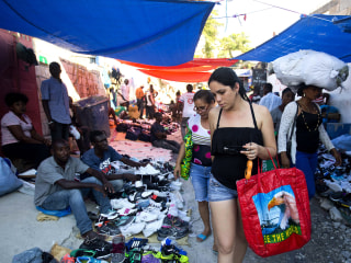 Cubans travel the world searching for shopping bargains