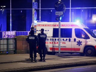 1 dead, at least 10 injured in shooting near Christmas market in Strasbourg, France