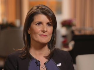 Nikki Haley says she leveraged Trump's outbursts to get things done at the U.N.