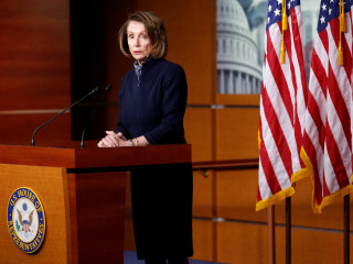 Pelosi: 'I did tell the president that I prayed for him'