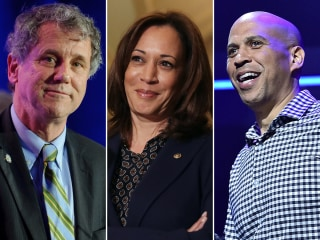 Democrats eyeing 2020 presidential bids test simple pitch: Have some money.