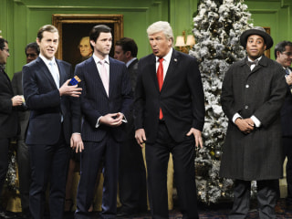 'SNL' imagines 'It's a Wonderful Trump' for the holidays