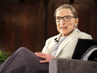 Justice Ruth Bader Ginsburg returns to Supreme Court for first time since cancer surgery