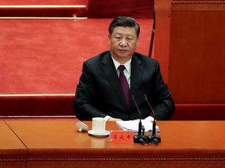 President Xi says 'No one is in a position to dictate' to China