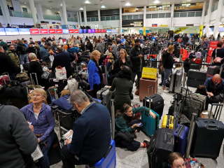 Britain's Gatwick Airport shut down due to drones flying overhead, causing holiday travel chaos