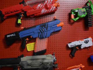 Should kids play with toy guns?