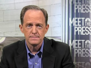 Trump's foreign policy views diverge from majority, Sen. Toomey says