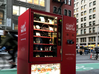 Want to make an end-of-year charitable donation? Yup, there's a...vending machine for that.
