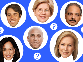 The race for the 2020 Democratic nomination is on. Who's in, who's out and who's a maybe.