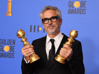 Alfonso Cuarón defends 'Roma,' Netflix after film's success is questioned at the Golden Globes