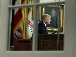 Read Trump's first Oval Office address