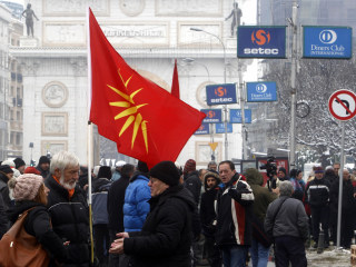Macedonian parliament agrees to change country's name to end a 27-year dispute with Greece