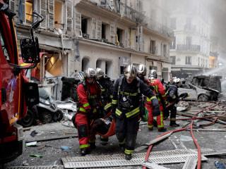 Three killed as explosion tears through Paris bakery; dozens injured