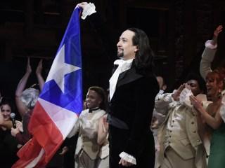 'Thank you Puerto Rico!': Lin-Manuel Miranda plays 'Hamilton' in his beloved island