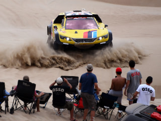 Photos: Rugged racers cross Peruvian desert in 41st Dakar Rally