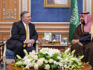 Pompeo spends 45 minutes with Crown Prince Mohammed bin Salman in Saudi Arabia