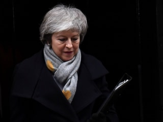 Theresa May faces no-confidence vote after her Brexit plan is crushed