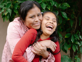 Guatemalan mom and American-born daughter reunited after 8 months apart