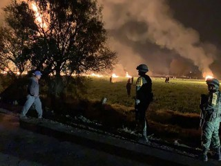 20 dead, 71 injured in ruptured pipeline explosion outside Mexico City