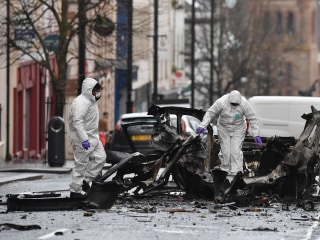 IRA dissidents suspected in Northern Ireland car bomb blast