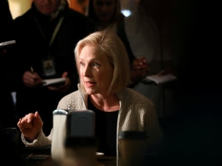 'It comes down to who can win.' Gillibrand confronted with electability on Iowa trip