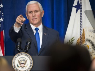 Pence slammed for quoting King to defend wall proposal