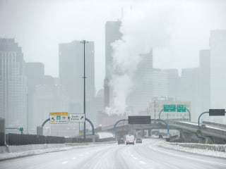 Wind chills plunge below zero as ice glazes swath of the country