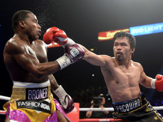 Manny Pacquiao's Los Angeles home burglarized over the weekend