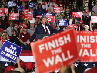 Trump's declaring a national emergency to get his wall. He's forcing a constitutional crisis.