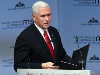 Pence renews criticism of U.S. allies, urging action on Iran and Venezuela in Munich speech