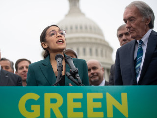 Move over, Ocasio-Cortez. The Green New Deal's got some competition.