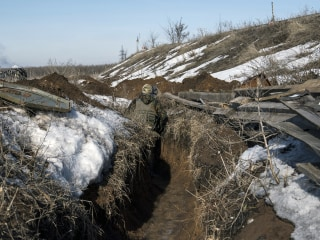 Mud, snipers and a global flashpoint: On the frontlines of Ukraine's frozen war